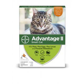 Advantage II Orange 6 pack  Cats 5 - 9 lbs