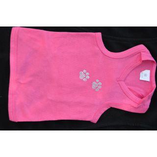 XXS Bling Dog Shirts : Dark Pink