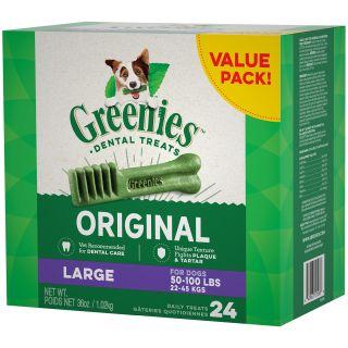"Greenies Large 36 oz. Tubs  ""Value Size"""