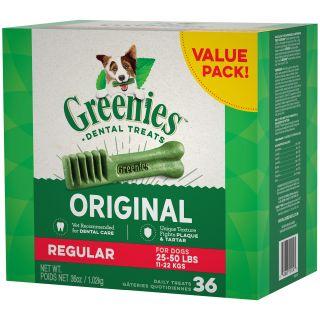 "Greenies Regular 36 oz. Tubs  ""Value Size"""